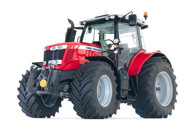 MF6600 tractors, 4 cylinder for light/compact and manouverability