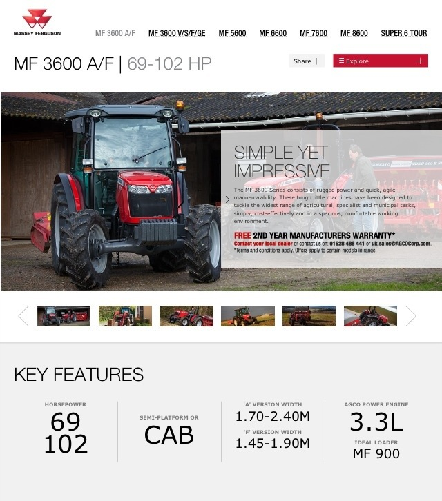 20130602 100252 AM Massey Ferguson Website on Used Massey Ferguson Tractors blog