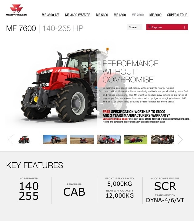 20130602 100658 AM Massey Ferguson Website on Used Massey Ferguson Tractors blog