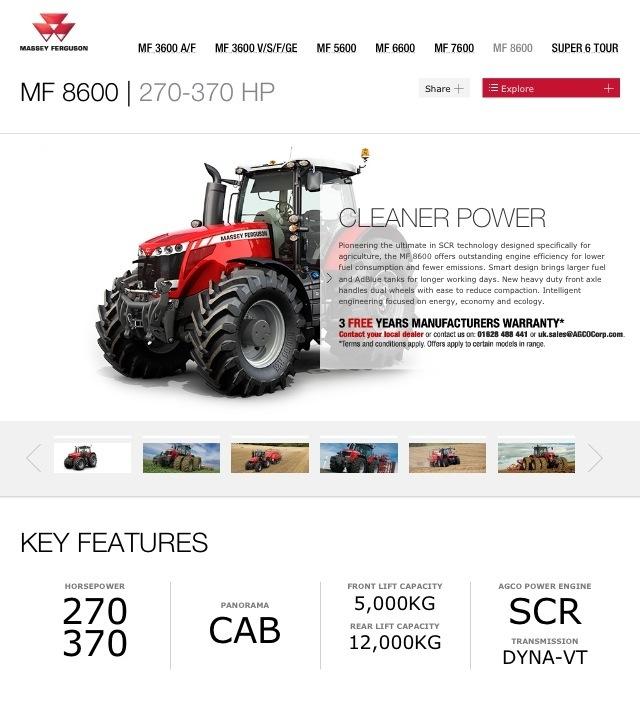 20130602 100739 AM Massey Ferguson Website on Used Massey Ferguson Tractors blog