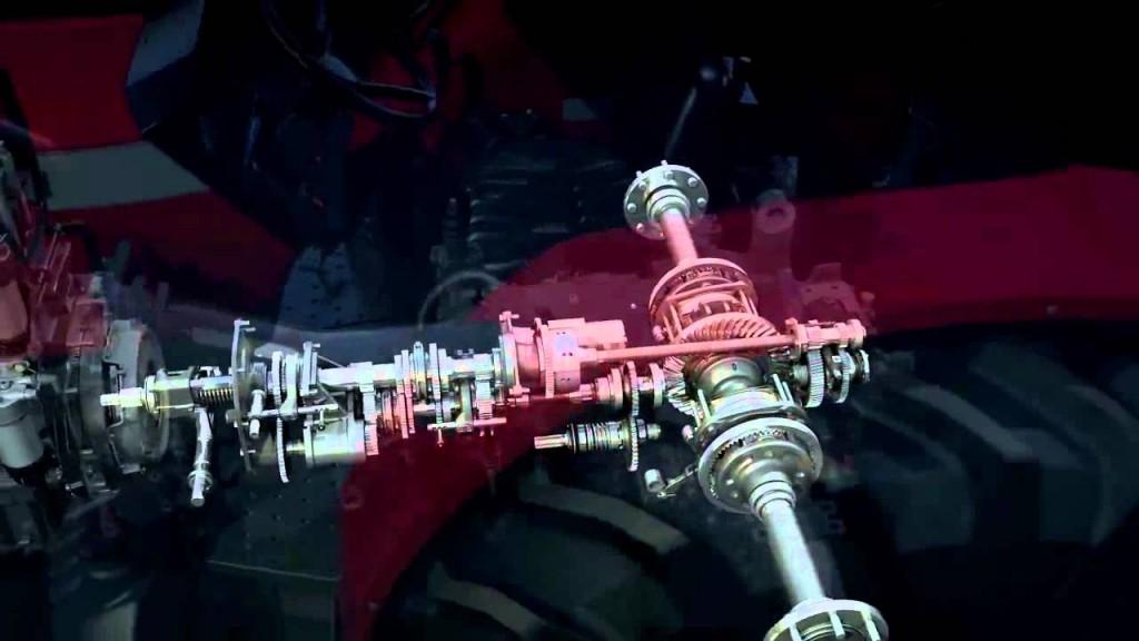 MF4700 transmission