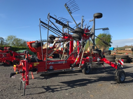 Massey Ferguson MF RK802 Twin Rotor Rake - NEW
