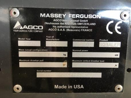 Massey Ferguson - MF2270 Tandem Packer - Big Square Baler - photo 6