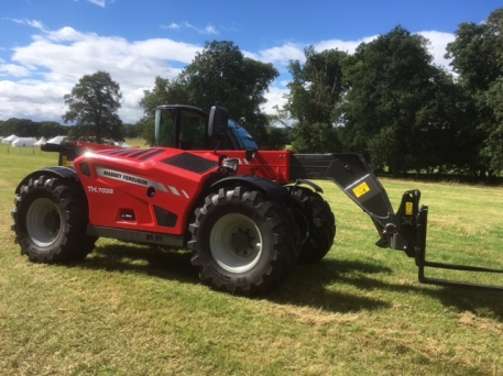 Massey Ferguson MF TH.7038 Telehandler
