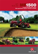 MF 1500 Grounds Care Compact