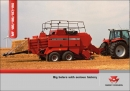Massey Ferguson 185 series 2 baler (year 2005)