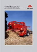 Massey Ferguson 130 small square balers
