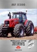 Massey Ferguson 8200 (year 2000)