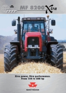Massey Ferguson 8200 Xtra Brochure