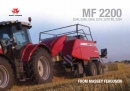 Massey Ferguson 2200 Big Square Baler Brochure