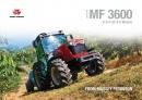 Massey Ferguson 3600 Series Tractor Brochure