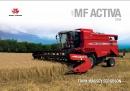 Massey Ferguson 7244 Activa Combine Brochure