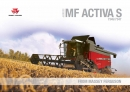 Massey Ferguson Activa S Combine Brochure 2015