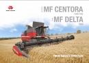 Massey Ferguson Centora & Delta Combine Brochure 2015