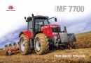 Massey Ferguson 7700 Series Tractors Brochure