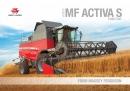 Massey Ferguson Activa S Combine Brochure 2016