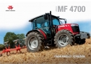 Massey Ferguson 4700 Series Cabbed Tractor Brochure