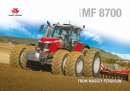 Massey Ferguson 8700 Series - DATA 5 - Tractor Brochure 2017