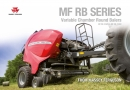 Massey Ferguson RB Series Variable Chamber Round Balers Brochure