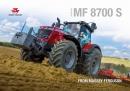 Massey Ferguson 8700 S Series Tractor Brochure